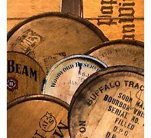 Bourbon Barrels Photographic Print