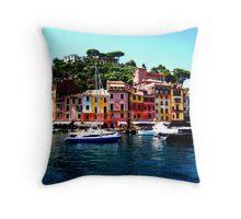 Along Side Portofino Throw Pillow