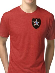 2nd Infantry Tri-blend T-Shirt