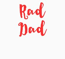 RAD DAD in Red for Father's Day Dads Men's Baseball ¾ T-Shirt