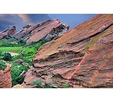 Morning Red Rocks Photographic Print
