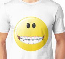 Braces Smiley Face Unisex T-Shirt