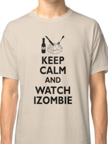 izombie - keep calm Classic T-Shirt