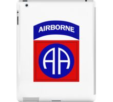 82nd Airborne iPad Case/Skin