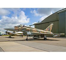 Eurofighter Typhoon FGR.4 ZK349 GN-A in camouflage Photographic Print