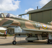 Eurofighter Typhoon FGR.4 ZK349 GN-A in camouflage Sticker