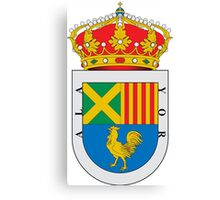 Alaior Coat of Arms  Canvas Print