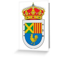 Alaior Coat of Arms  Greeting Card
