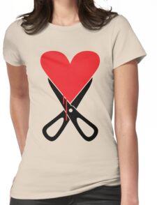 Heartbreaker... Womens Fitted T-Shirt