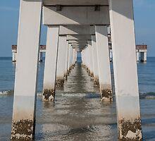 Under the Pier  by John  Kapusta