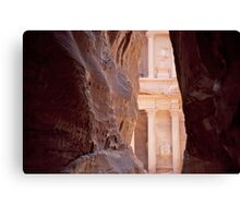 Peaking Petra Canvas Print
