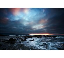 Clearing storm Photographic Print