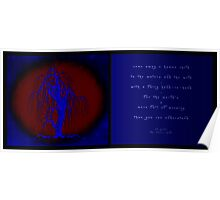 Come away o human child (Diptych) Poster