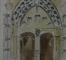 Vienne Cathedral door by DrPeterDean