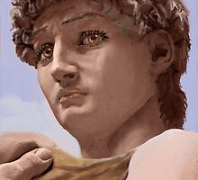 David after Michelangelo by MayWebb