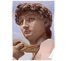 David after Michelangelo Poster
