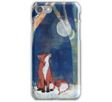 The Fox and the Moon iPhone Case/Skin