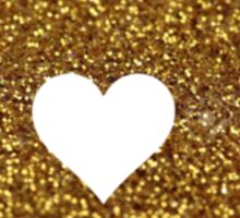 Gold Glitter Pennsylvania Sticker