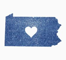 Blue Glitter Pennsylvania by shayes15