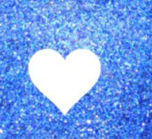 Blue Glitter Pennsylvania Sticker