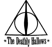 Deathly Hallows Harry Potter by tekelronaldo