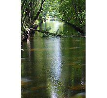 Blackstone River Canal. Photographic Print