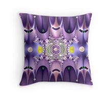 Cosmic Crown Jewells Throw Pillow