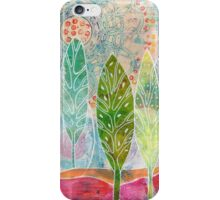 The Forest in the Sun iPhone Case/Skin