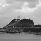 Nobbys Head Lighthouse, Newcastle by Rochelle Buckley