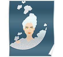 Bubble Cloud Poster