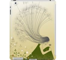 * the girl with dandelion hair * iPad Case/Skin