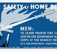 Home Safety Is Home Defense -- WPA by warishellstore