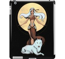K'Taniqui and the Ma'iitshoh iPad Case/Skin