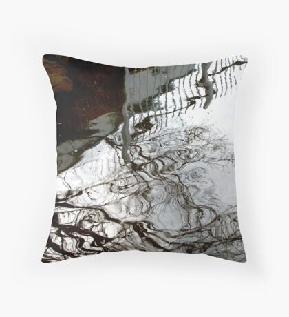 Water Reflections, Port Fairy #2 Throw Pillow