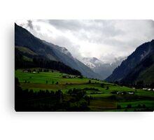 Austrian Tyrol Canvas Print