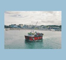 Greystones Fishing Trawler Kids Clothes