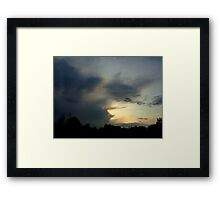 Moody, or what? Framed Print