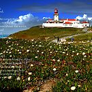 Among the Threads of Vapor-Cabo Roca Lighthouse-Portugal by Wayne Cook