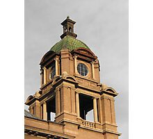 The Court House Tower Photographic Print