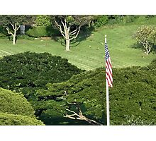 National Memorial Cemetery of the Pacific (Punchbowl) Photographic Print