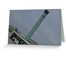 ..... if you read me ... rock the tower ... Greeting Card