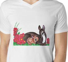 MOTHERLY LOVE Mens V-Neck T-Shirt