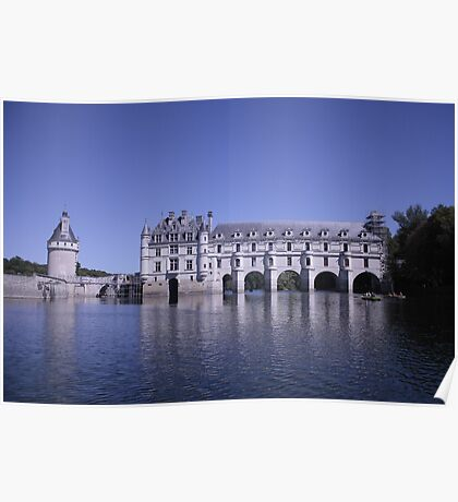 Chenonceau Reflections  Poster