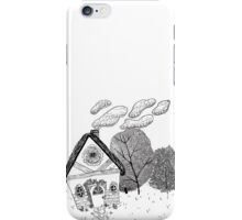Home in Black and White iPhone Case/Skin