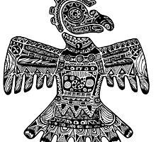 Aztec Eagle by kaltangle