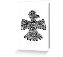 Aztec Eagle Greeting Card