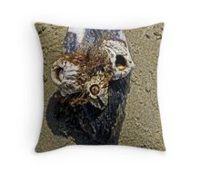 Barnacle Bill the Sailor got Marooned   Throw Pillow