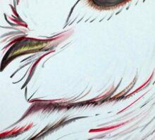 Red Owl Sticker