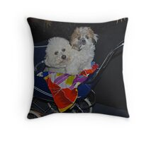 The Fur Babes Throw Pillow