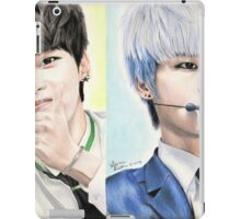 N (Cha Hakyeon) Colored Pencil Drawing iPad Case/Skin
